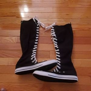 Air Walk Knee High Sneakers